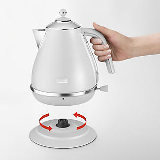 De'longhi Icona Elements 1.7L Kettle Cloud White KBOE3001.W alt image 2