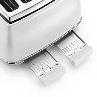 De'longhi Icona Elements 4 Slice Toaster Cloud White CTOE4003.W alt image 4