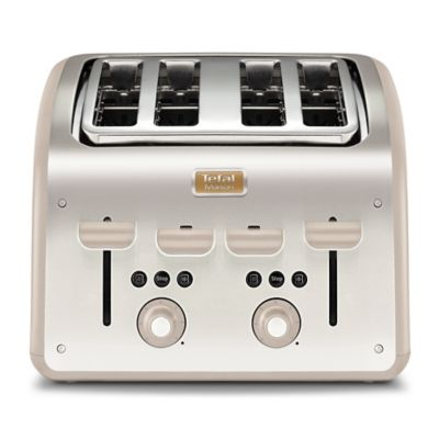 Tefal&174 Maison 4 Slice Toaster Oatmeal Grey