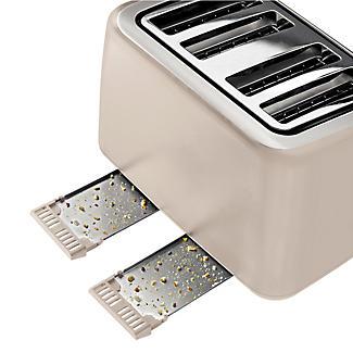 Tefal® Maison 4 Slice Toaster Oatmeal Grey TT770AUK alt image 3