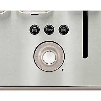 Tefal® Maison 4 Slice Toaster Oatmeal Grey TT770AUK alt image 4