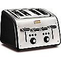Tefal® Maison 4 Slice Toaster Black TT7708UK