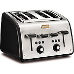 Tefal® Maison 4 Slice Toaster Black TT7708UK