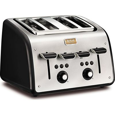 Tefal&174 Maison 4 Slice Toaster Black TT7708UK
