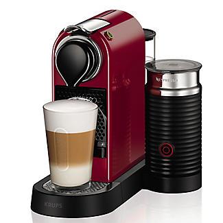 Krups Nespresso Citiz Red with Milk alt image 3