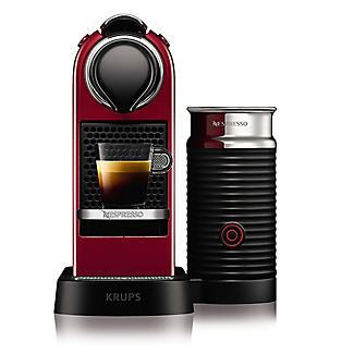 Krups Nespresso Citiz Red with Milk alt image 5