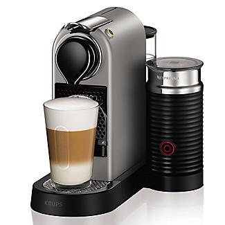 Krups Nespresso Citiz Silver with Milk alt image 2
