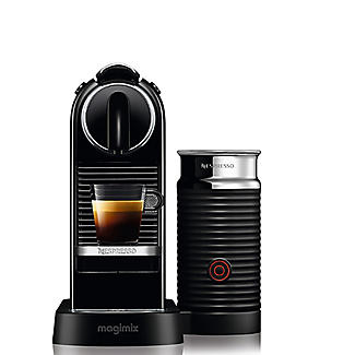 Magimix Nespresso Citiz Black with Milk 11317 alt image 5