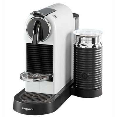 Magimix Nespresso Citiz Amp Milk Coffee Machine 11319 White