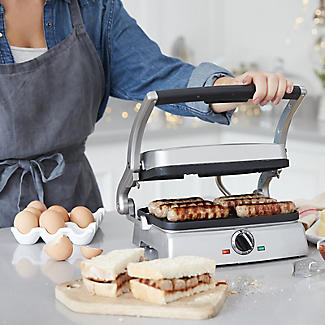 Cuisinart 2in1 Grill and Sandwich Maker GRSM2U alt image 2
