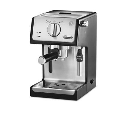 chrome espresso machine