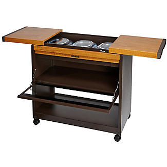 Connoisseur Hostess Trolley Golden Oak Effect