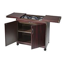 Connoisseur Hostess Trolley Mahogany Effect