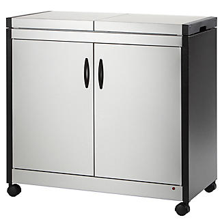 Connoisseur Hostess Trolley Brushed Steel