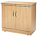 Maestro Hostess Trolley Lugano Oak Effect