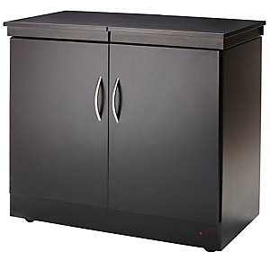 Maestro Hostess Trolley Black
