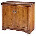 Gourmet Hostess Trolley Antique Oak