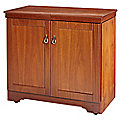 Gourmet Hostess Trolley American Walnut