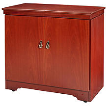 Gourmet Hostess Trolley Curl Mahogany