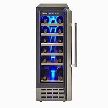 Crosslee Hostess 19-Bottle Wine Cabinet