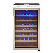 Crosslee Hostess 40-Bottle Wine Cabinet
