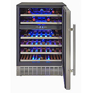 Crosslee Hostess 46-Bottle Wine Cabinet