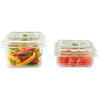 2 Foodsaver Fresh Food Container Jars