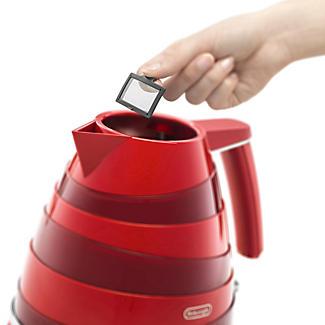 De'Longhi Avvolta 1.7L Kettle Red KBA3001.W alt image 3