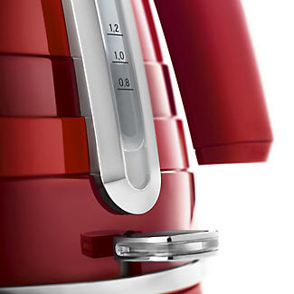 De'Longhi Avvolta 1.7L Kettle Red KBA3001.W alt image 4