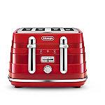 De'Longhi Avvolta Toaster Red CTA4003.R