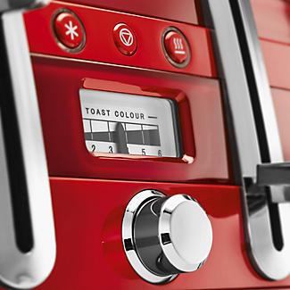 De'Longhi Avvolta Toaster Red CTA4003.R alt image 4