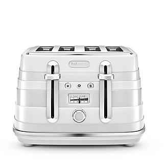 De'Longhi Avvolta Toaster White CTA4003.W