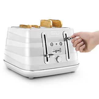 De'Longhi Avvolta Toaster White CTA4003.W alt image 3