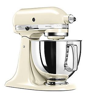 KitchenAid® Artisan® 125 Stand Mixer Almond Cream 5KSM125BAC alt image 2
