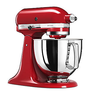 KitchenAid® Artisan® 125 Stand Mixer Empire Red 5KSM125BER alt image 2