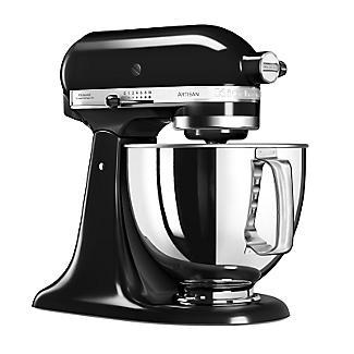 KitchenAid® Artisan® 125 Stand Mixer Onyx Black 5KSM125BOB alt image 2
