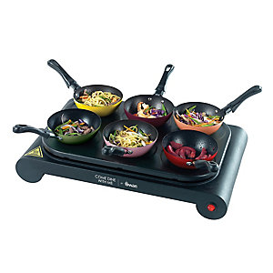 Swan Party Wok and Pancake Maker SF23010CDWMN