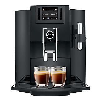 Jura E80 Bean-to-cup Coffee Machine Piano Black 15083