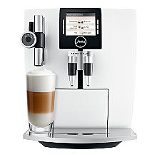 Jura Impressa J85 Bean-to-cup Coffee Machine Piano White 15049