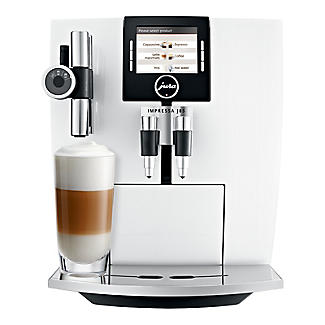 Jura Impressa J85 Bean-to-cup Coffee Machine Piano White