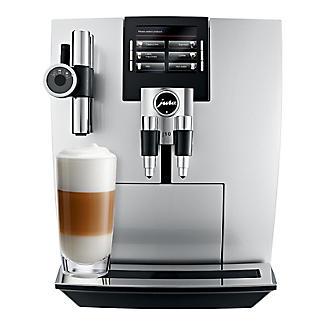 Jura Impressa J90 Bean-to-cup Coffee Machine Brilliant Silver