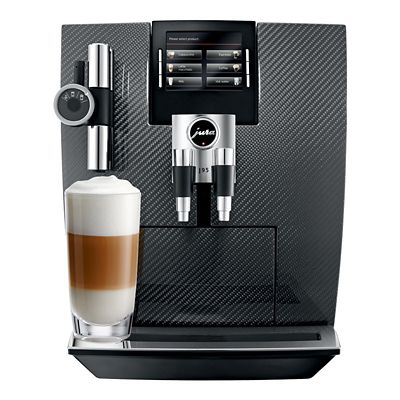 Jura J95 Carbon Fibre BeantoCup Coffee Machine 15039