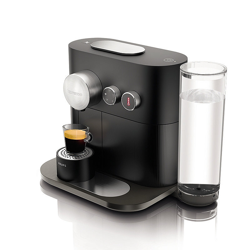 Krups Nespresso Expert Coffee Machine Black XN600840