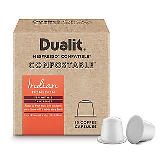 10 Dualit Compostable Indian Monsoon Capsules alt image 2