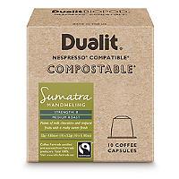 10 Dualit Compostable Sumatra Capsules