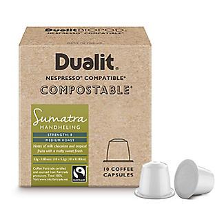10 Dualit Compostable Sumatra Capsules alt image 2