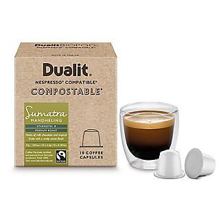 10 Dualit Compostable Sumatra Capsules alt image 3
