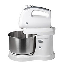 Lakeland 2 in 1 Hand and Stand Mixer White 2.8L