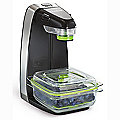 FoodSaver Vertical Vacuum Sealer with 700ml Container and Bags FFS010