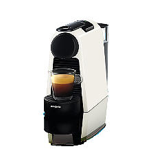 Magimix Nespresso Essenza Mini Coffee Machine Pure White 11365